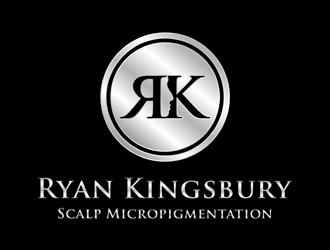 Ryan Kingsbury Scalp Micropigmentation logo design