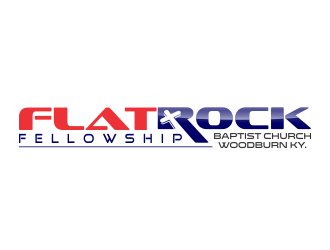 FLAT ROCK FELLOWSHIP logo design