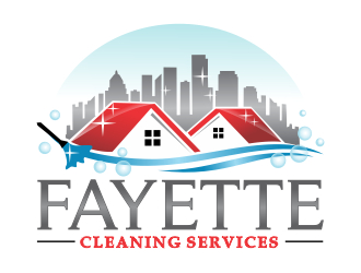 Fayette Cleaning Services logo design