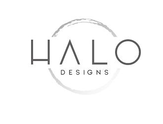 H A L O  Designs logo design