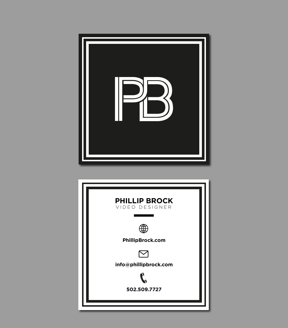PB logo design