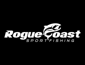 Rogue Coast Sport Fishing logo design