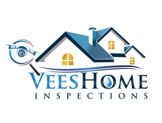 VEES HOME INSPECTIONS logo design