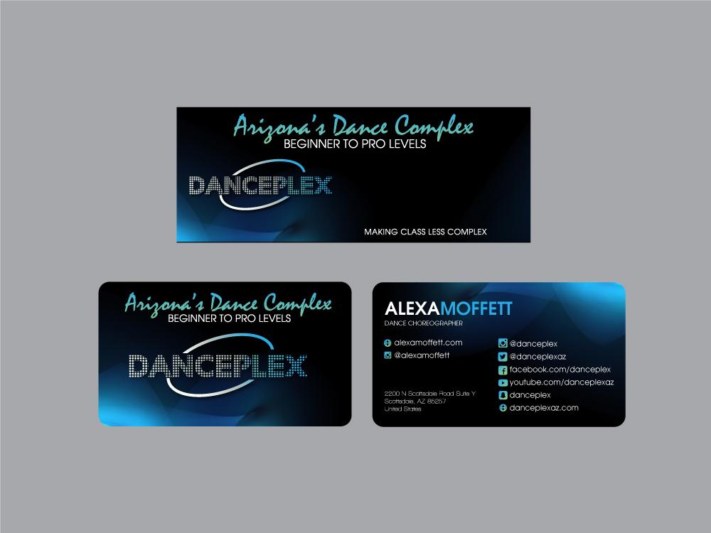 Danceplex logo design