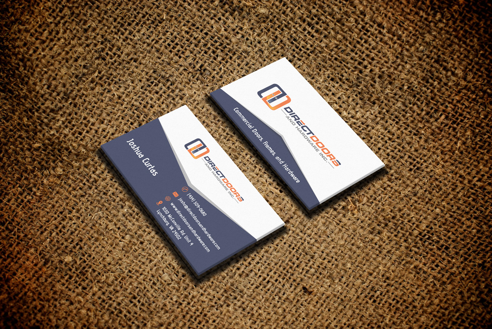 Direct Doors and Hardware, Inc. logo design