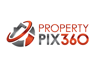 Property Pix 360 logo design