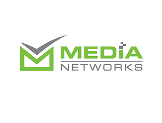 Media Networks LLC logo design