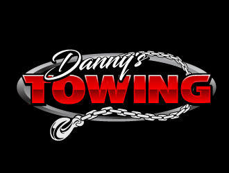 Dannys Towing logo design