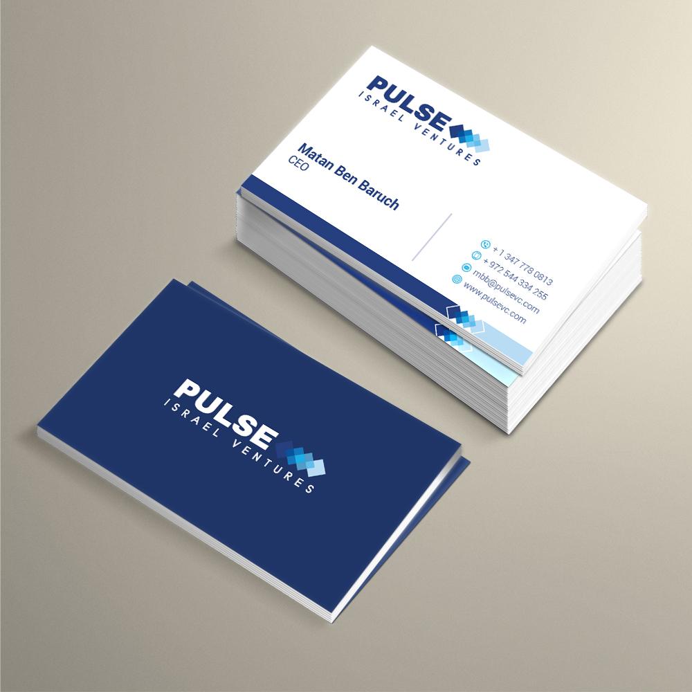 Headline: Pulse     Tagline: Israel Ventures logo design