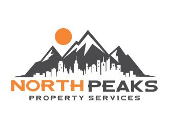 NORTH PEAKS logo design