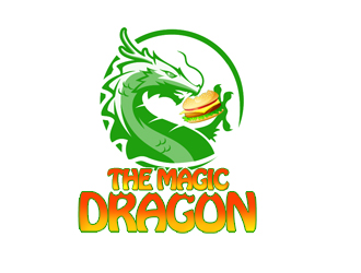 The Magic Dragon logo design