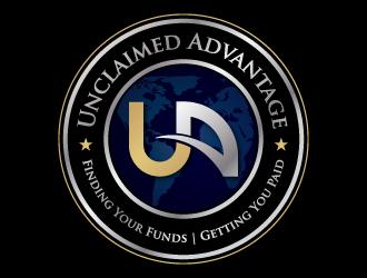 Unclaimed Advantage logo design
