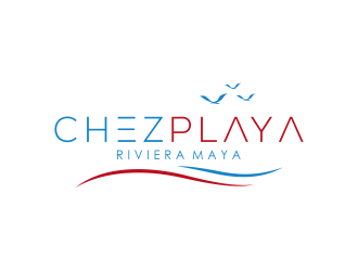chez playa logo design