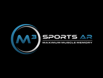 M³ Sports AR logo design