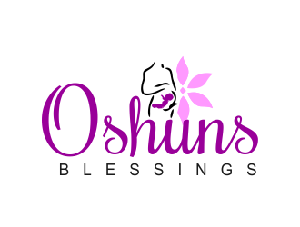 Oshuns Blessings logo design