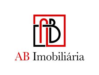 AB Imobiliária logo design