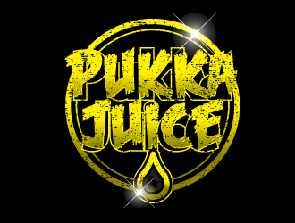 Pukka Juice logo design