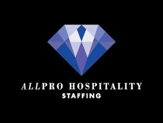 ALLPRO HOSPITALITY STAFFING logo design