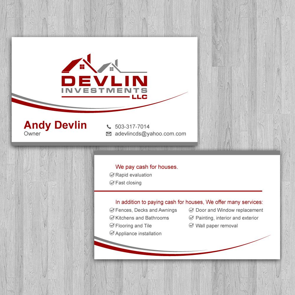 Devlin Investments, LLC logo design