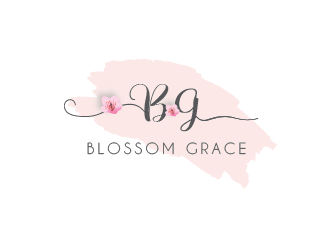 Blossom Grace logo design