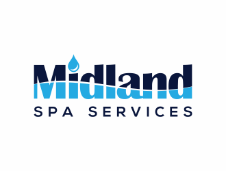 Midland Spa Services logo design
