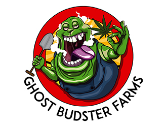 Ghost Budsters logo design