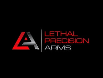 Lethal Precision Arms logo design