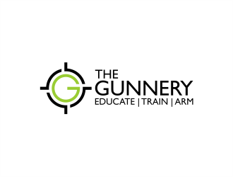 The Gunnery logo design