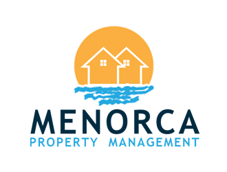 Menorca Property Management logo design