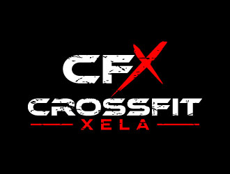 CrossFit Xela logo design