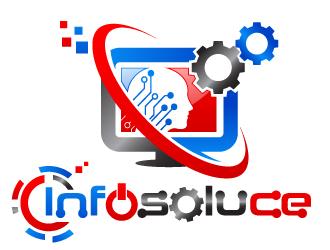 Infosoluce logo design