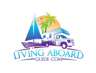 Livingaboardguide.com logo design
