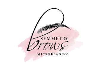 Symmetry Brows Microblading logo design
