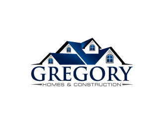 Gregory Homes & Construction logo design