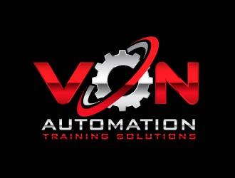 Von Automation Training Solutions logo design