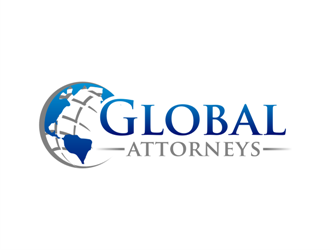Global Attorneys logo design