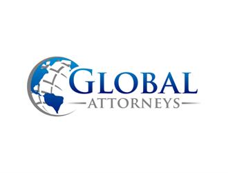 Global Attorneys logo design