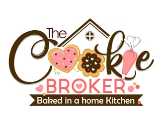 The Cookie Broker logo design