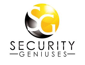 Security geniuses logo design