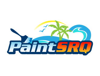 Paint SRQ logo design