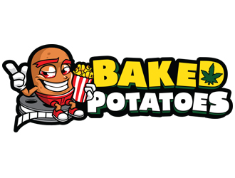 Baked Potatoes logo design