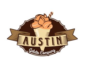 Austin Gelato Company logo design