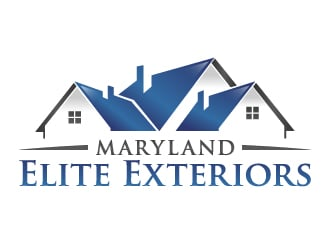 Maryland Elite Exteriors logo design