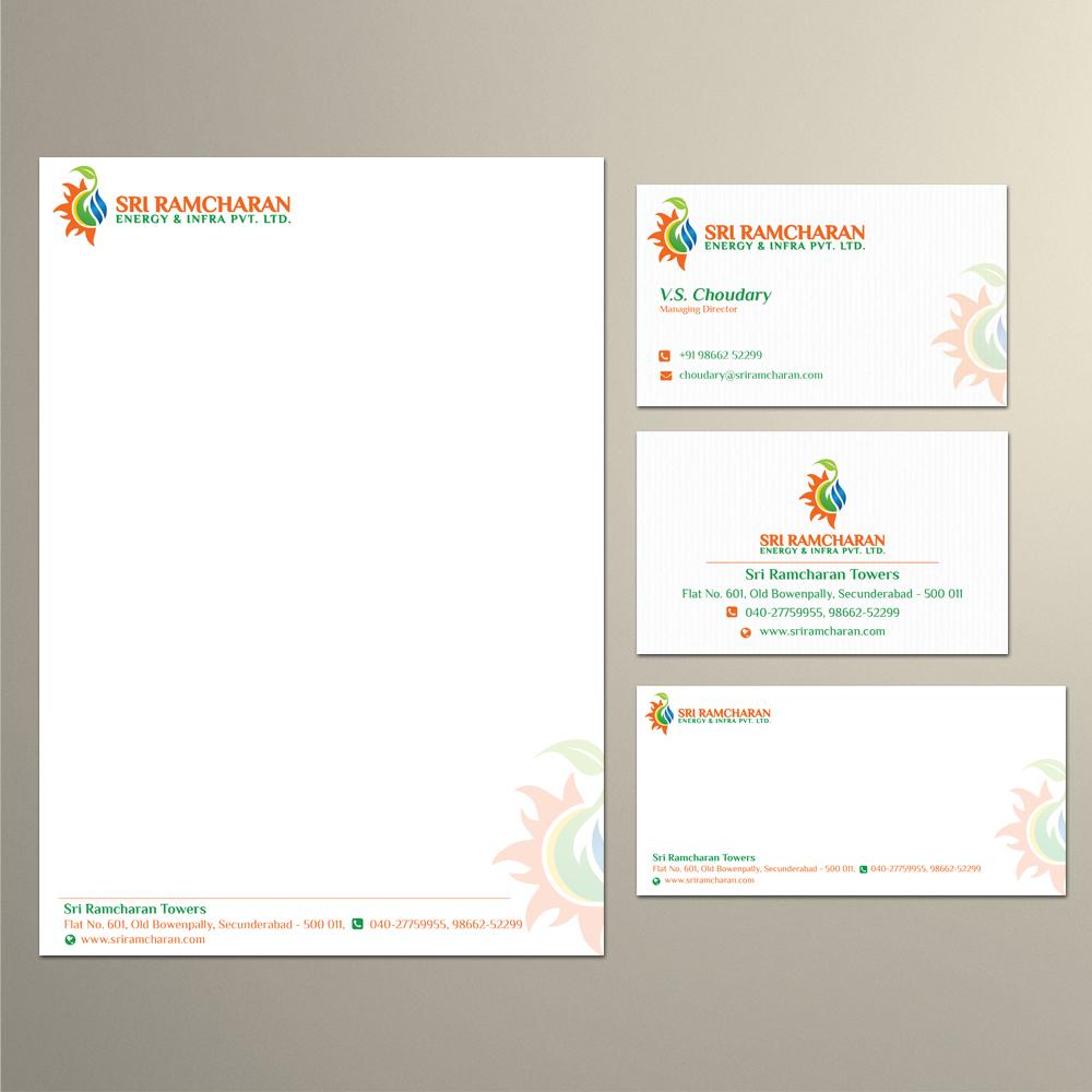 Sri Ramcharan Energy & Infra Pvt. Ltd. logo design