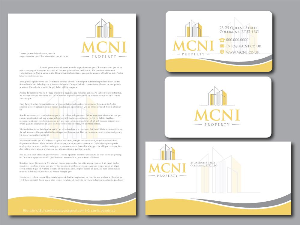 MCNI Property Limited logo design