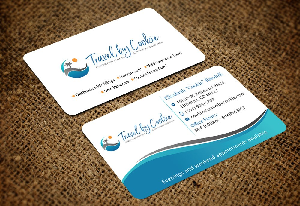 Travel by Cookie logo design
