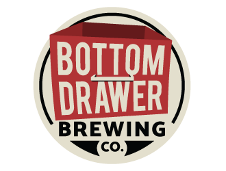 Bottom Drawer Brewing logo design winner
