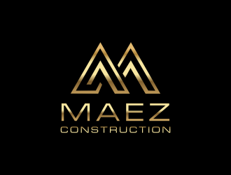 Maez Construction logo design