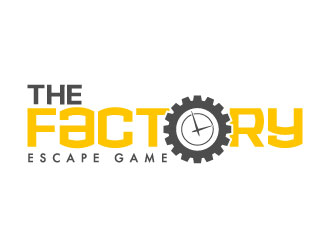 The Factory Escape Game logo design