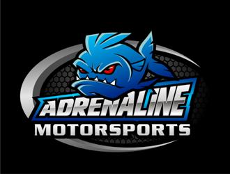 Adrenaline motorsports logo design